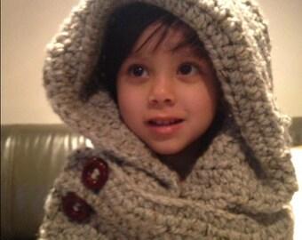 Snood, scarfie , cowl, hoodie, scarf