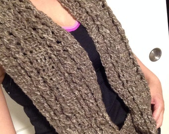 Infinity scarf, scarf, cable scarf