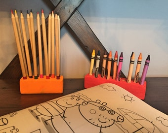 Crayon and Pencil Holders