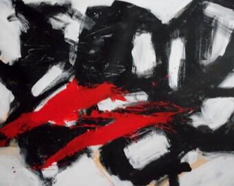 Free shipping, original abstract art. 120x100cm 47,24 x 39,37inch
