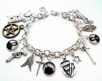 Supernatural sharm bracelet - supernatural jewelry - Dean Winchester jewelry - Sam Winchester jewelry