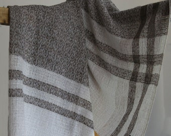 100% Cashmere Scarf 0087 - Handmade in Nepal