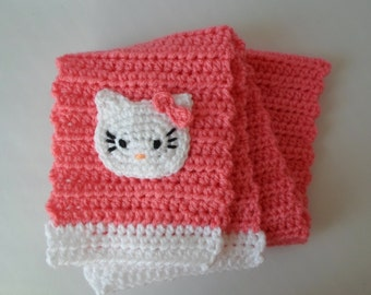 Hello Kitty Scarf Baby Crochet