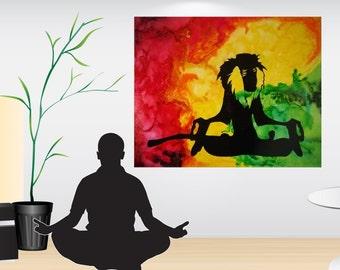 Disney Raffiki, Melted Crayon Art, Disney Art, Disney Art Canvas, Watercolor Art, Silhouette Art, Abstract Art, Fan Art, Canvas Art
