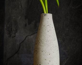 Concrete vase