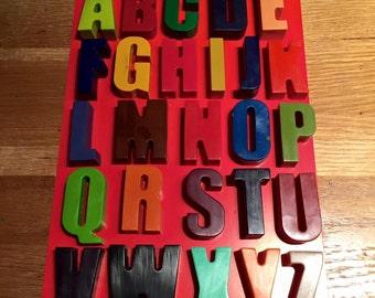 A-Z Alphabet Crayons
