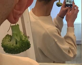 Vegan Organic Earrings