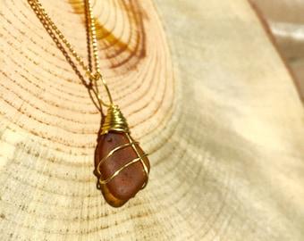 Sea Glass Necklace | California