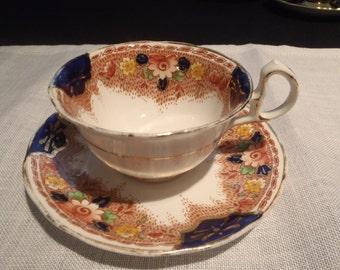 Royal Stafford Bone China Vintage Teacup and Saucer