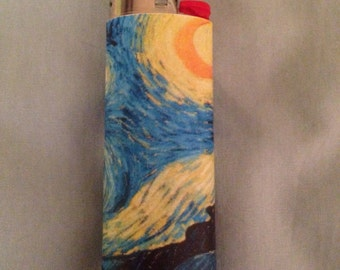 Vincent Van Gogh's starry night lighter