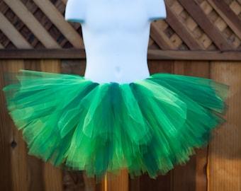 Shades of Green Tutu/Fairy Tutu/St. Patrick's Day tutu