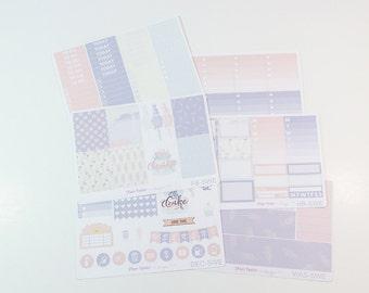 Sweet Treat Weekly Kit / Planner Stickers / Erin Condren Planner Stickers / Vertical