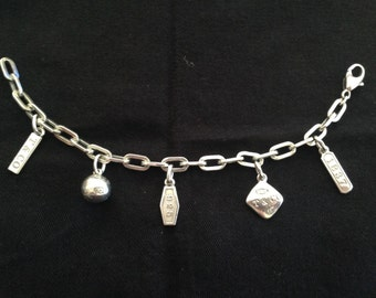 Absolutely Stunning Tiffany & Co Sterling Silver Charm Bracelet with Tiffany Charms