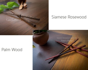 Wooden Chopsticks.Siamese Rosewood Chopsticks.Palm Wood Chopsticks.
