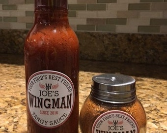 Dry Rub and Tangy Sauce Combo