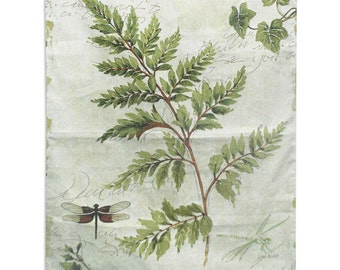 Ivies And Ferns I Wall Tapestry - SKU: 7089-WH