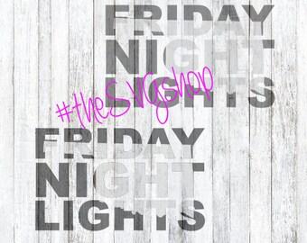 SVG File, Friday Night Lights, Oklahoma State