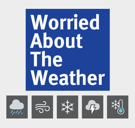 Greensky Bluegrass Worried About The Weather Channel T-Shirt