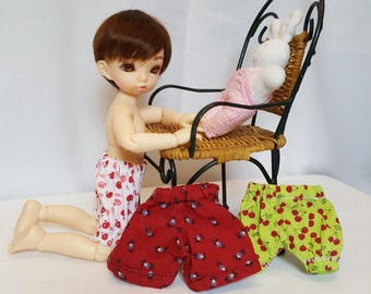 lot of shorts for doll bjd