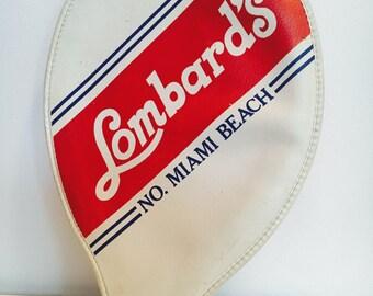 Lombard's No. Miami Beach Racquet Holder