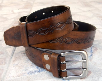 Men's Leather Belt, Men's Dark brown leather belt, Rustic leather belt, Top quality vegetable tanned leather belt, Handmade leather belt