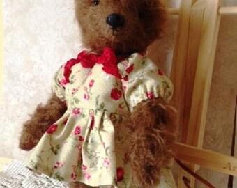 Teddy bear Brown Bear Stuffed bear Bear as a gift Handmade bear
