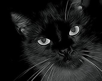 Burmese Cat Air Brushed