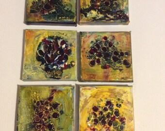 Jeweled flowers