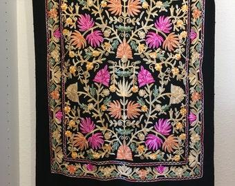 Premium Embroidered Cashmere Shawl