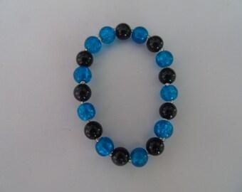 Womens elasticated bracelet
