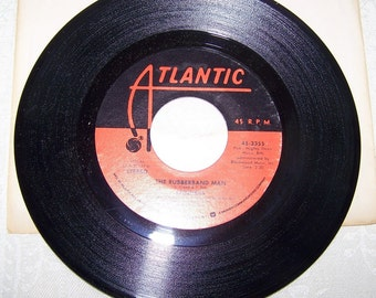 """1970's Hit 45 rpm record By The Spinners """"The Rubberband Man"""""""