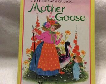 Gyo Fujikawa's Original Mother Goose 1965. Very good. Free ship