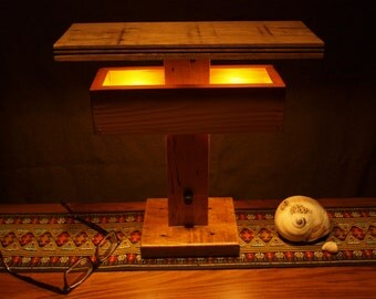 The Three T Table and Desk Lamp