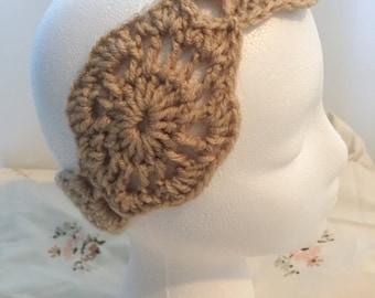 Brown Headband