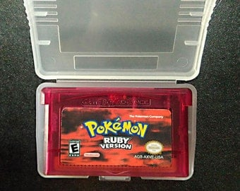 Pokemon Ruby Version GBA Gameboy Advance