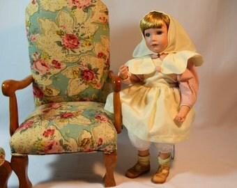 Boyd's Bears, Porcelain Doll, Best Nurse Doll, Yesterday's Child