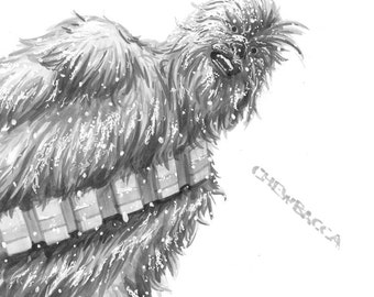 Chewbacca Daily Drawing