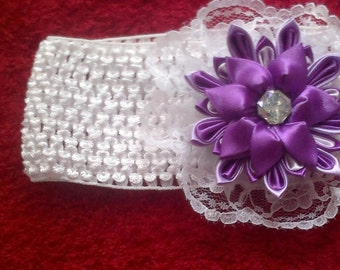 Tsumami Kanzashi Flower Headband