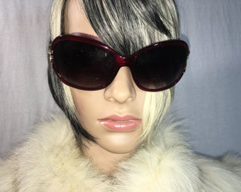 Vintage Red-Brown Tortoise Sunglasses