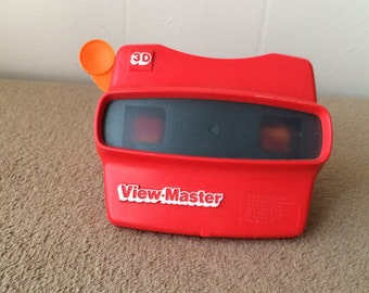 View Master 3D, vintage 90s, Red, plus other in purple color, Dora