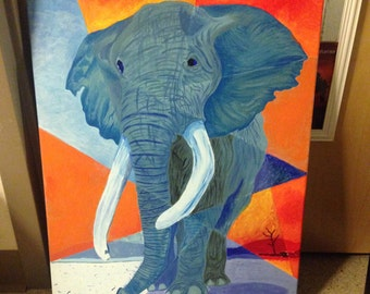 Abstract Elephsnt