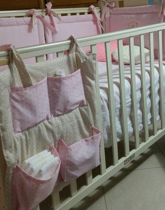 Pochette de rangement cintre cr che sauver couches par retalesymas - Cintre vetement bebe ...