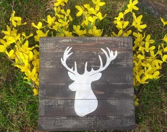 Deer Silhouette Sign