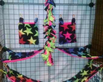 13 piece ombre stars sugar glider set