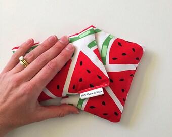 Watermelon print Mini heat/cold packs