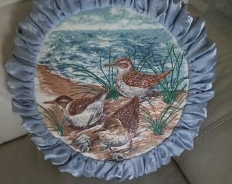 Country Decorative pillow-House Wren