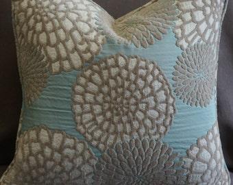 Pair of decorative Throw Pillows, 19x19 throw pillow covers, Contemporary toss pillows