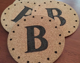 Custom Cork Coasters