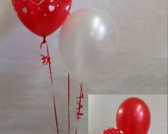 40th Ruby Wedding Anniversary Balloon Decoration Display Kit Celebration Party