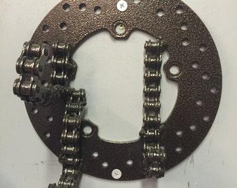 Metal Moto Helmet / Keys / Jacket / Purse / Coat Rack